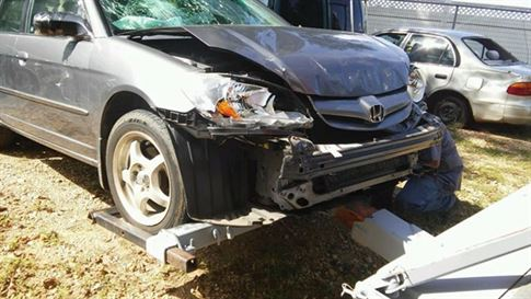 Sell Crashed Car Online in Wilmington